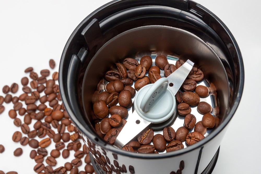 เครื่องบดกาแฟแบบใบมีด