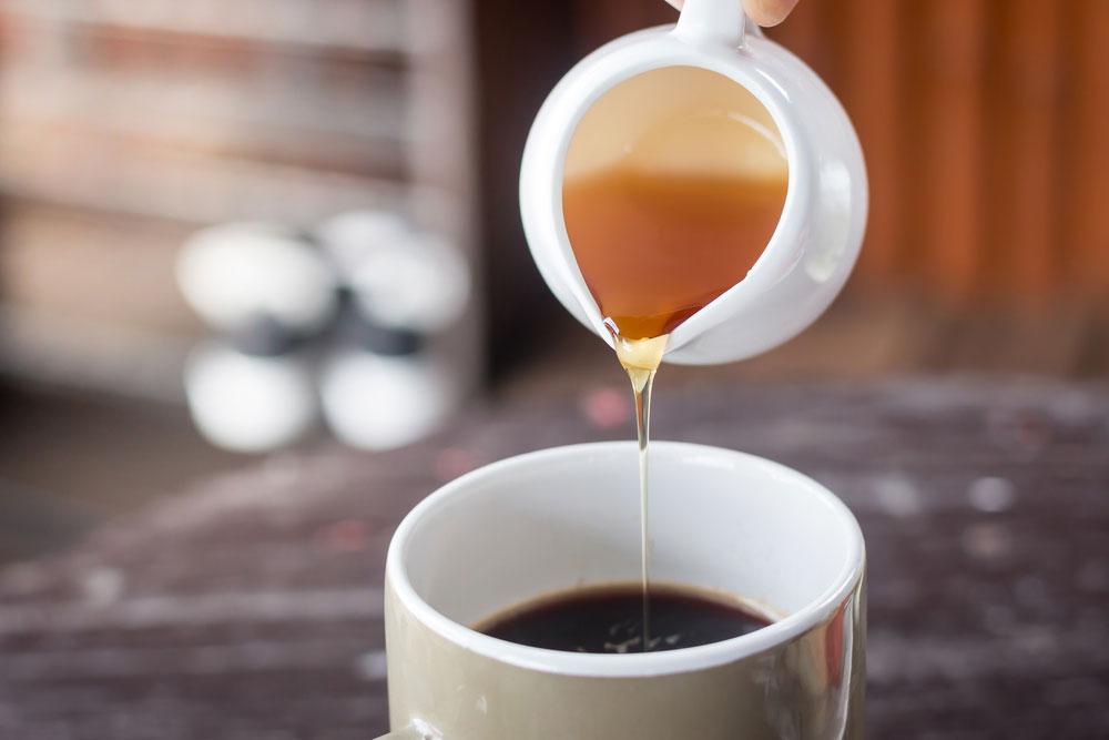 กาแฟผสมน้ำผึ้ง