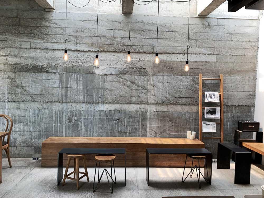 ร้านกาแฟสไตล์ลอฟท์ (Loft Style)